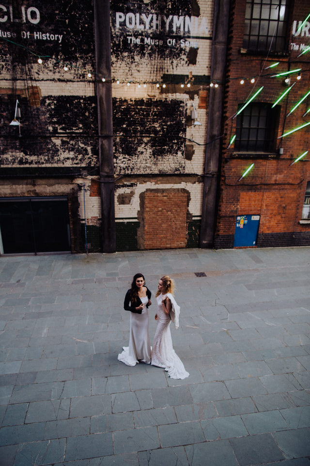 Urban Boho Bridal Editorial Featuring