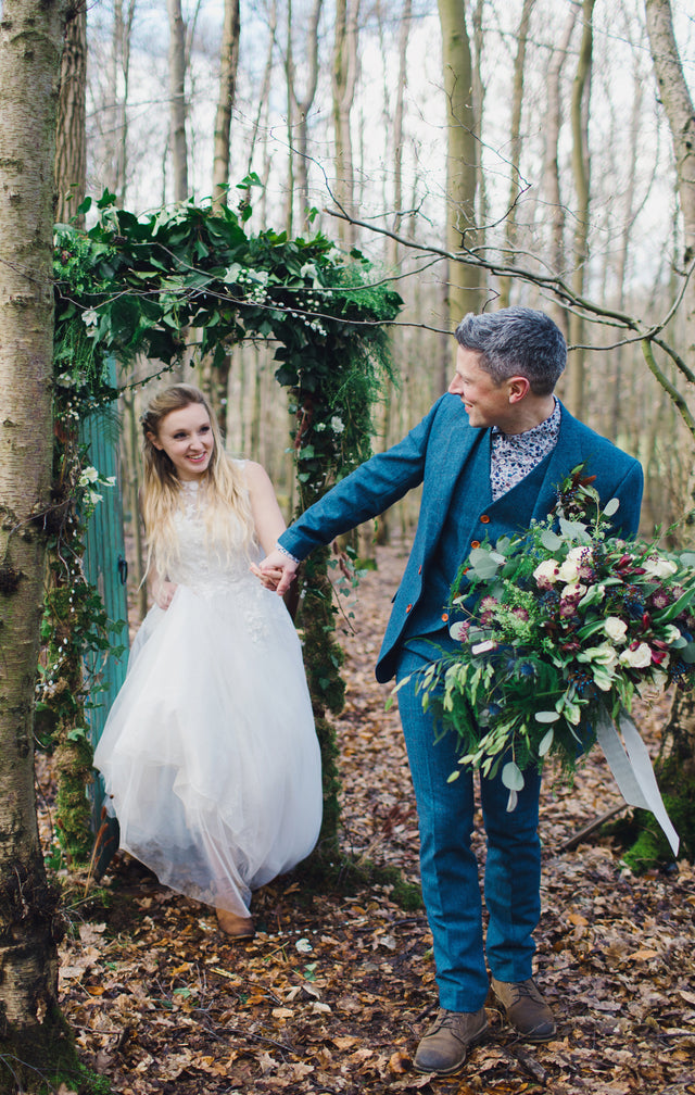 Woodland Garden Wedding Inspiration