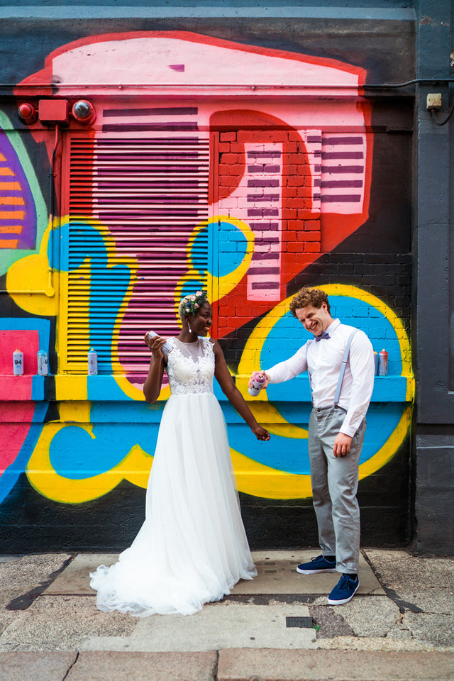 Colourful Urban City Wedding Inspiration