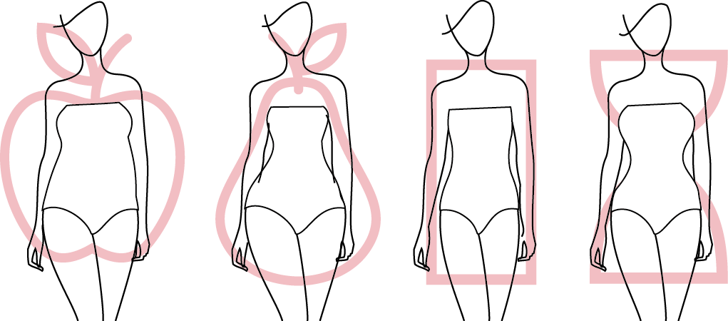 How to choose wedding dresses by body shapes