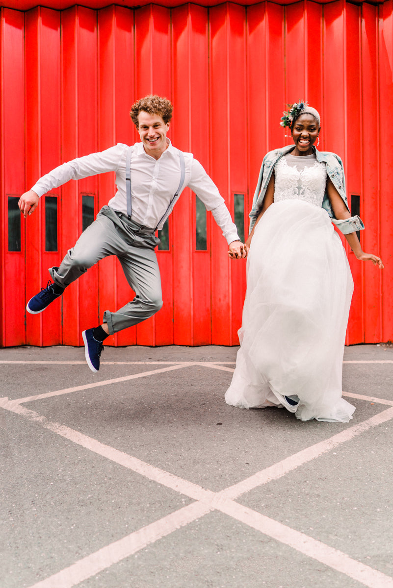 Romantic wedding shoot at Shoreditch