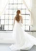 Beaded Wedding Gown With Chapel Train