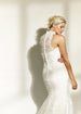 High Neck Lace Trumpet Wedding Dress