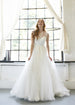 Cross Straps A-Line Wedding Dress Aneberry Front