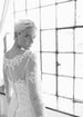 Long Sleeve Illusion Lace Mermaid Wedding Dress