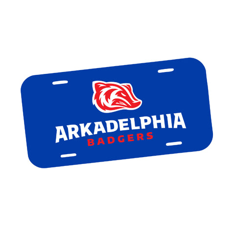 Good Sport Arkadelphia Badgers License Plate