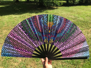 PINEOWLPLE HAND FAN - MI KULTURE