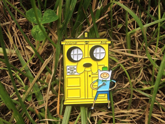 Adventure Who Time Pin