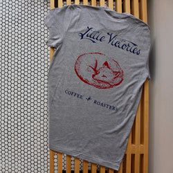 LVC Sleeping Fox T-Shirt - Grey