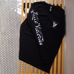 LVC Sleeping Fox Long Sleeve - Black