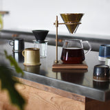 Kinto SCS 4 Cup Brewer Stand Set