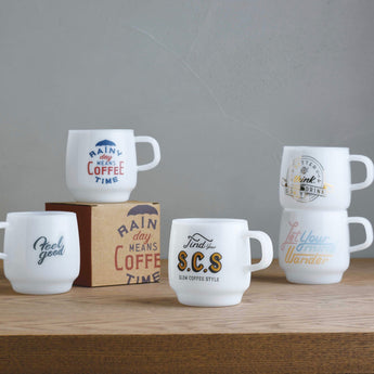 Kinto SCS Sign Paint Mugs