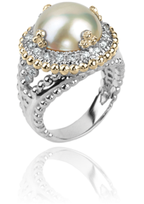 White Pearl Ring