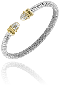 Shell Tip Diamond Bracelet