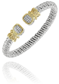 Diamond Cushion Bracelet