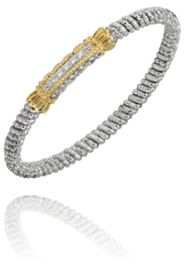 Closed Bar Diamond Bracelet