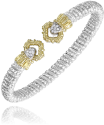 Open Diamond Clover Bracelet