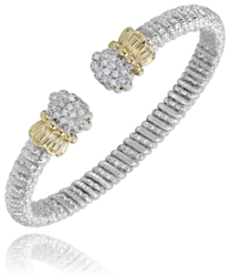 Open Diamond Bracelet