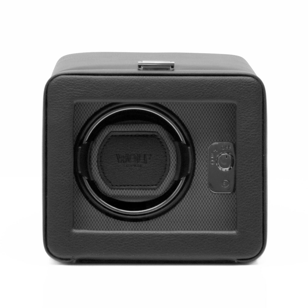 Single watch winder with adjustable settings