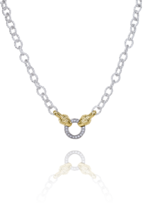 18 INCH DIAMOND CIRCLE CHAIN