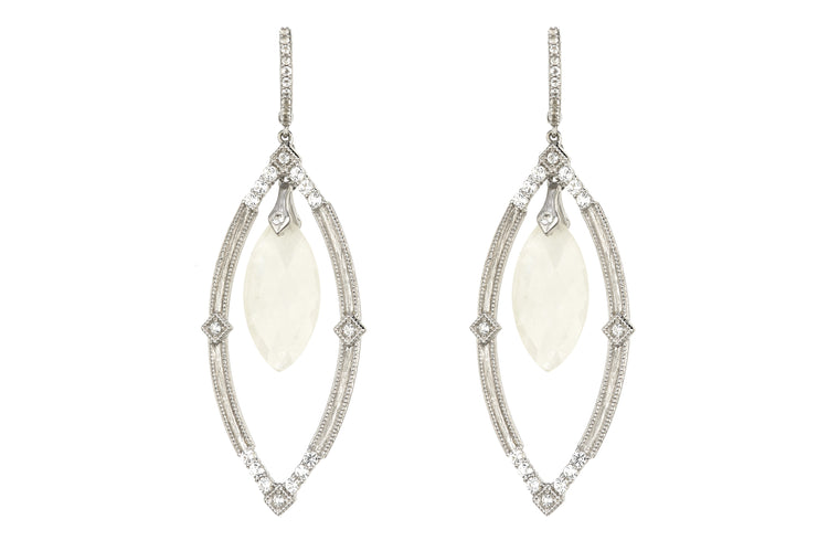 Encore Open Marquise Moroccan Quad Earrings