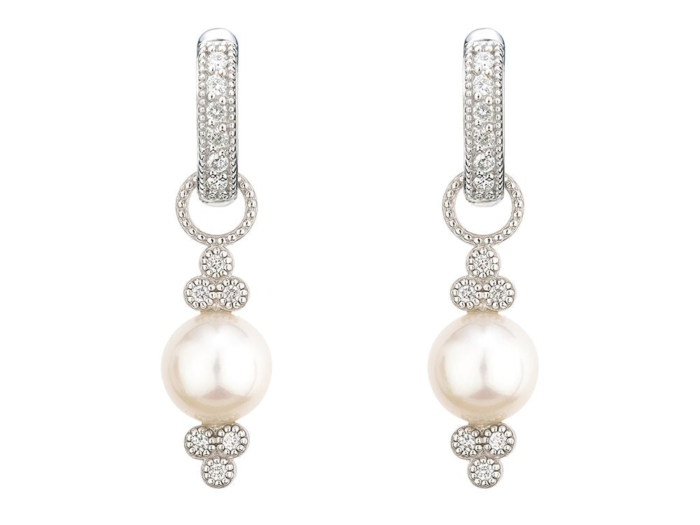 Small Provence Pearl Earring Charms