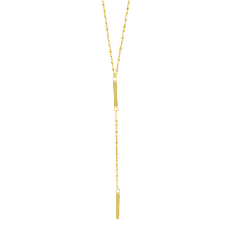 Adjustable Double Bar Lariat