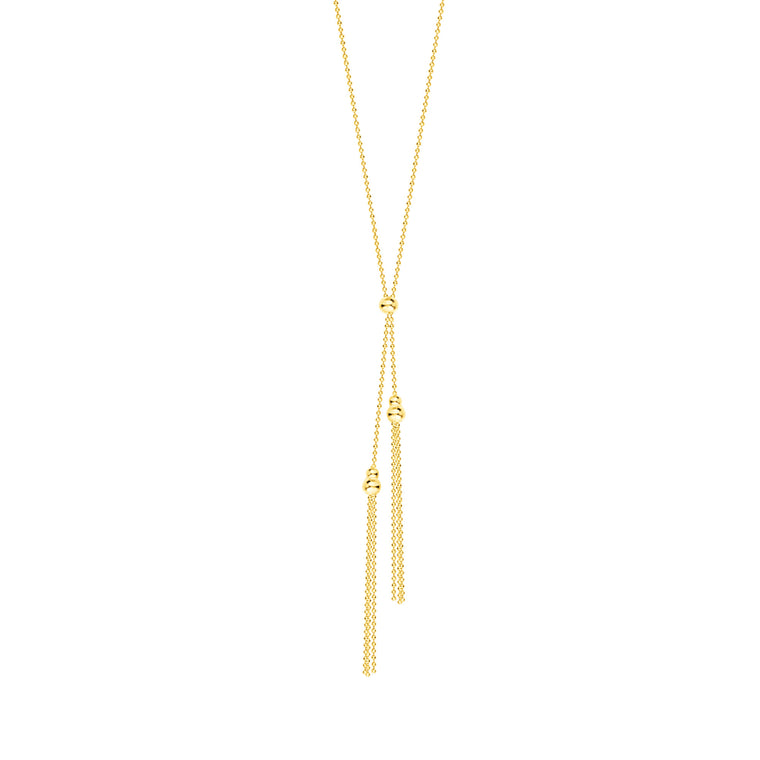Lariat Necklace in 14K