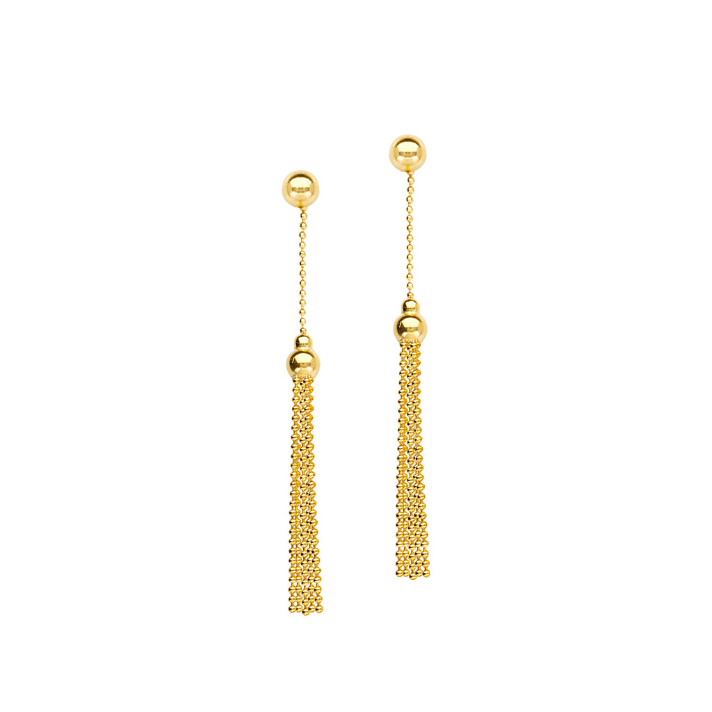 Dangle Earrings in 14K