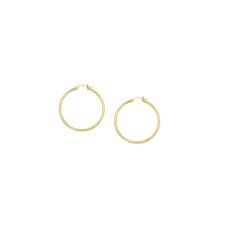 Hoop Earrings, 25mm