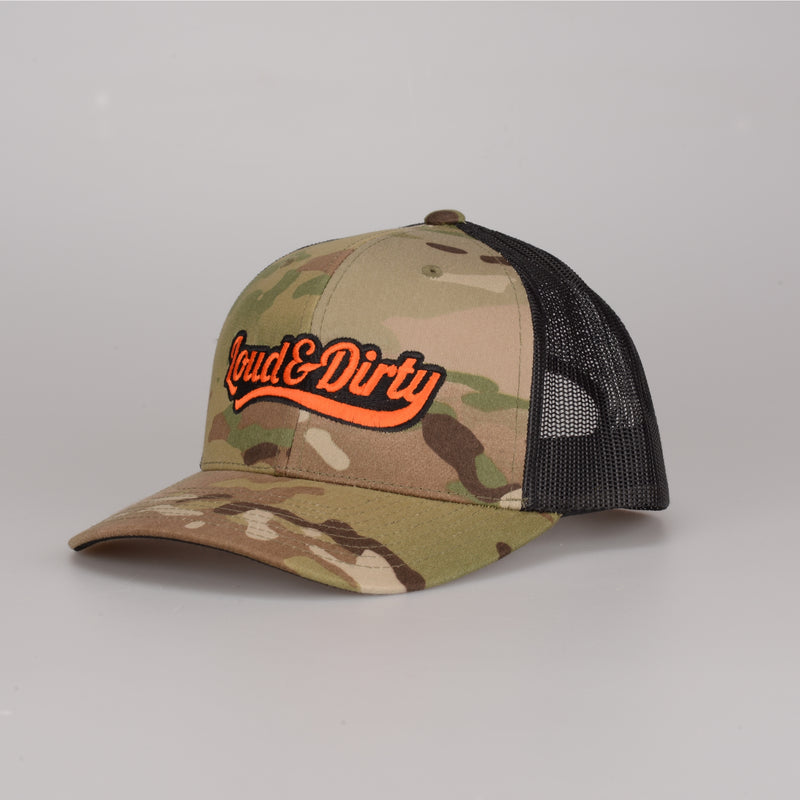 Tailwind Snapback - Green Multicam/Black