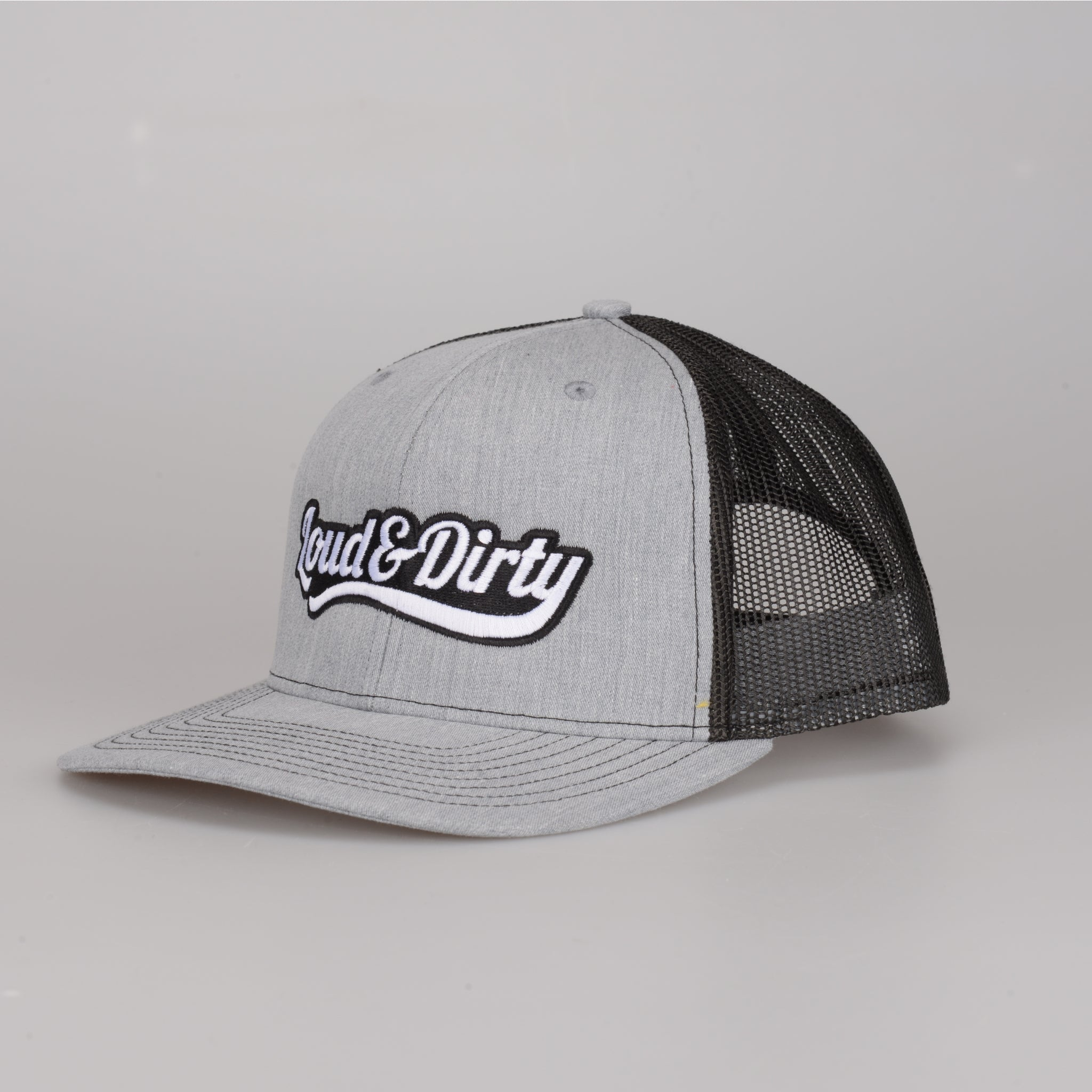 Tailwind Snapback - Heather Grey