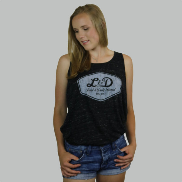 Ladies Crest Flowy Tank