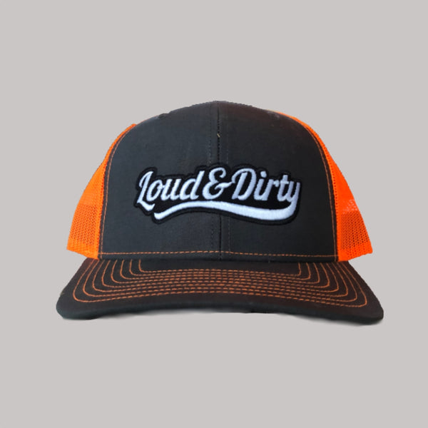 Tailwind Snapback - orange /grey