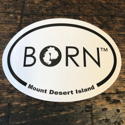 BORN Sticker