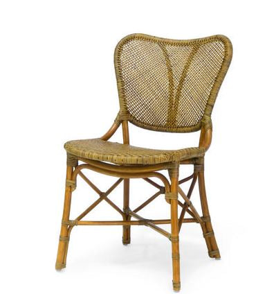 'Palecek' Jordan Side Chair (Honey)