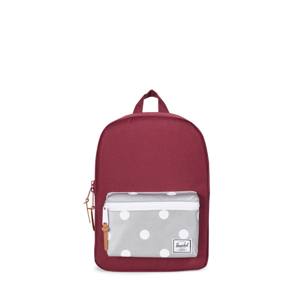 Wine/3M Polka Dot Settlement Backpack