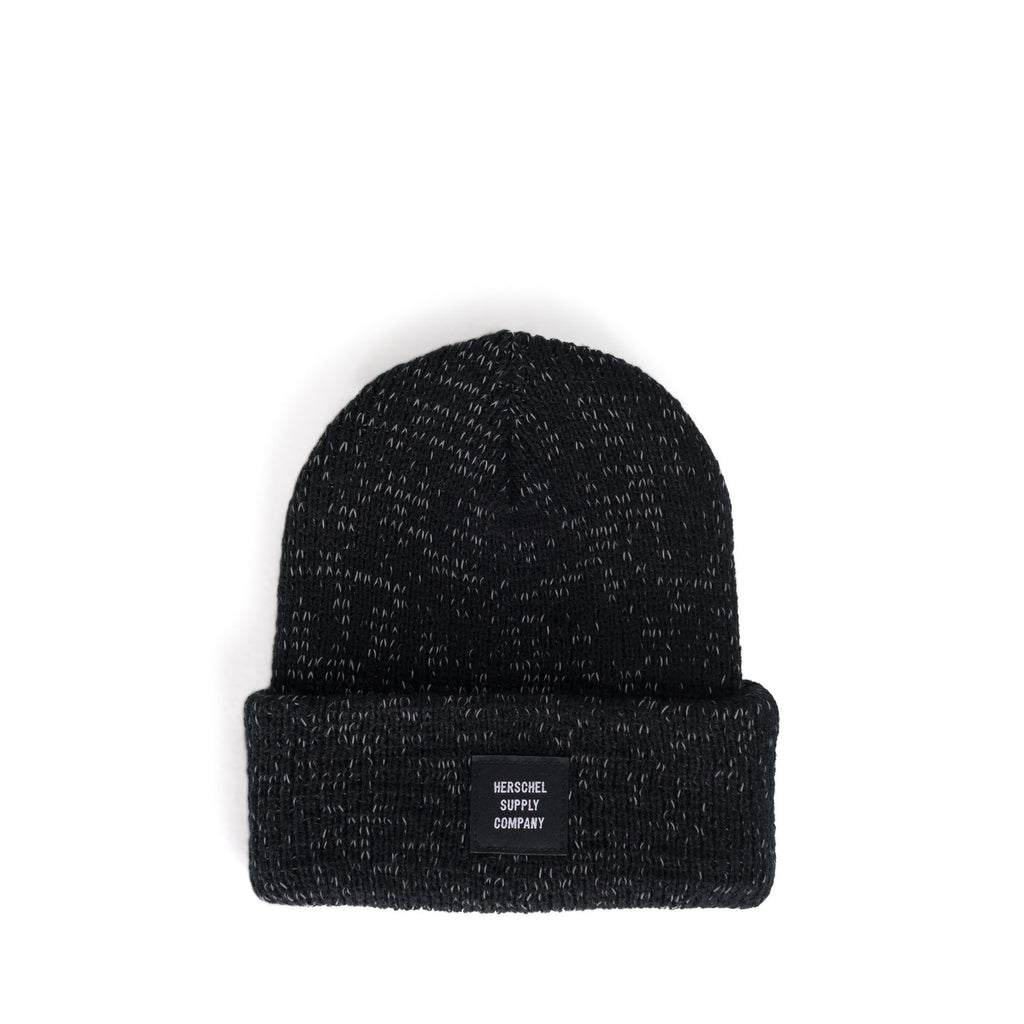 YOUTH Abbott Reflective Black Beanie - Little Bean + Co