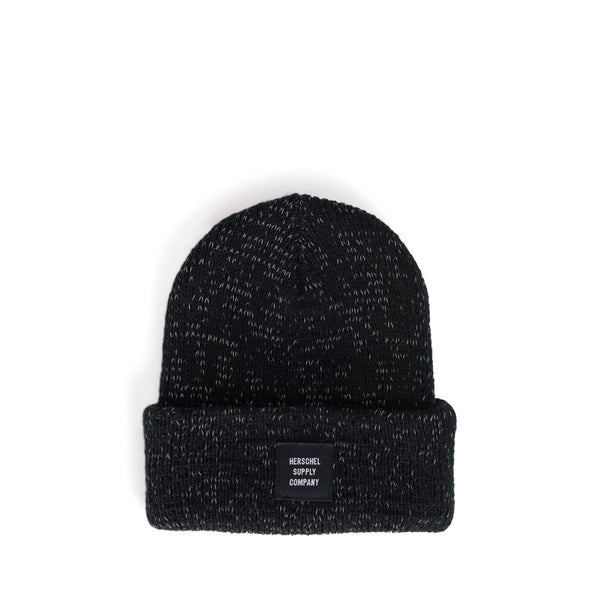 YOUTH Abbott Reflective Black Beanie