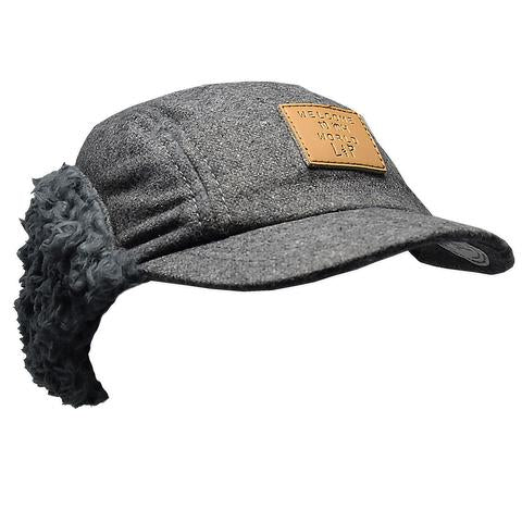 Grey Winter Cap