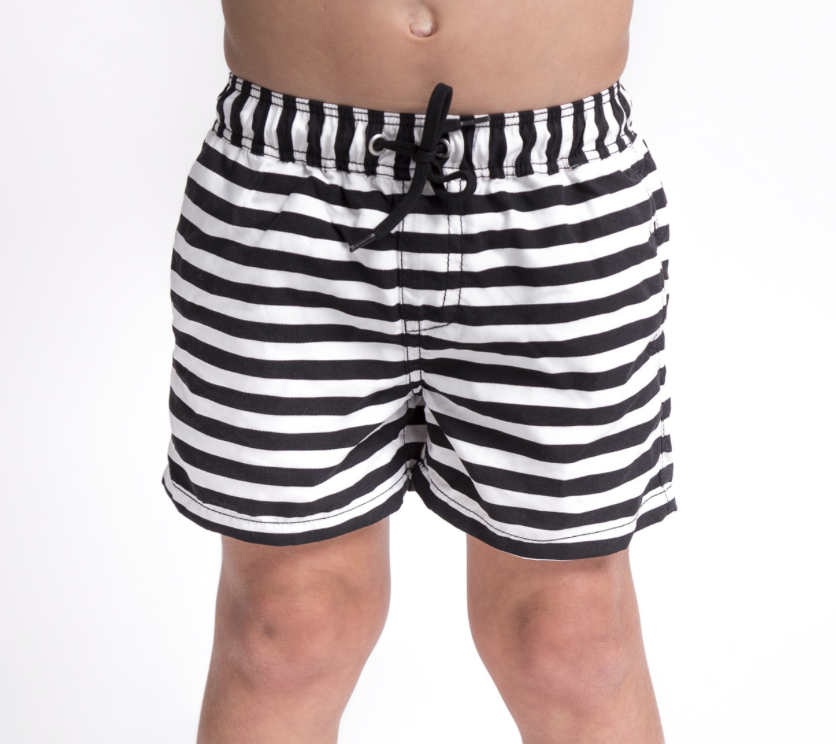 Striped Board Shorts (6T Only)