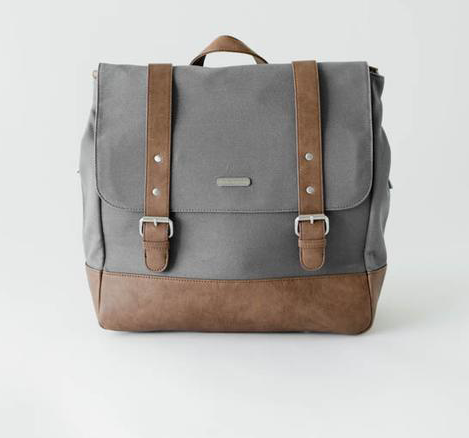 Marindale Diaper Bag Grey