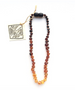 Baltic Amber Teething Necklace - Little Bean + Co