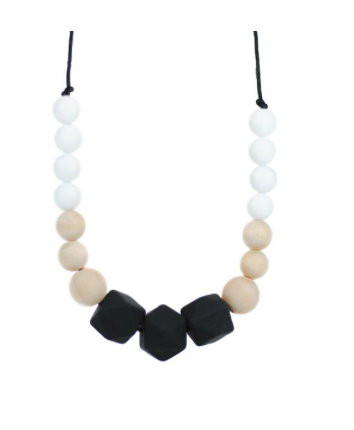 Silicone Teething Necklace - Mama - Little Bean + Co