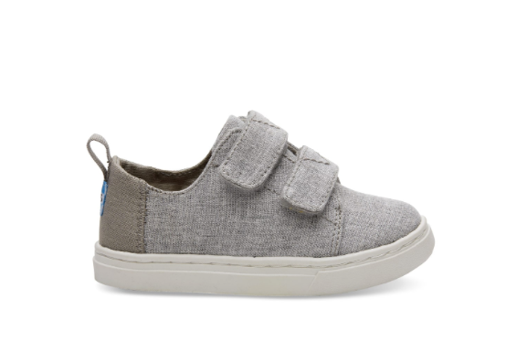 Drizzle Grey Slub Chambray