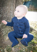L'oved Baby Gloved Footed Romper