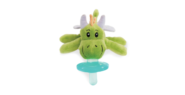 WubbaNub Pacifier - Green Dragon