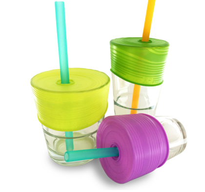 Silicone Straw Tops