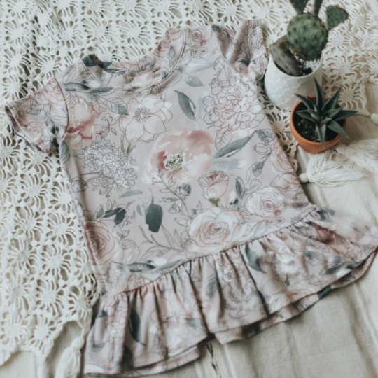 Wildflower Ruffle Tunic