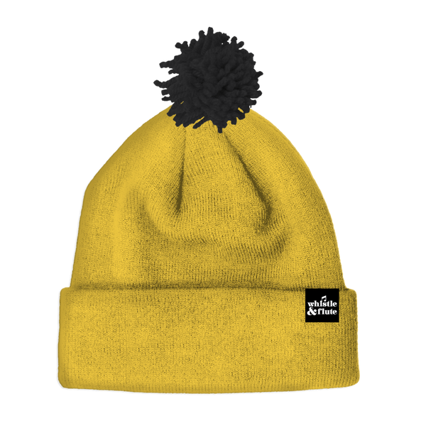 Mustard Yellow Beanie - Little Bean + Co